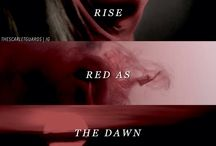 red as the dawn