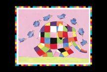 Thema Elmer / Alles over het thema Elmer de Olifant