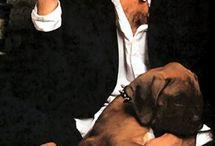 Men ... dogs