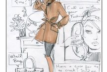 FASHION sketches / by Nancy Noblett