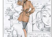 FASHION sketches / by Nancy Noblett