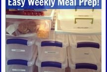 Perfectly planned weekly meals