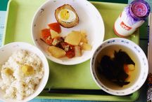 Japanese School Lunch / Pictures of  my school lunch from  Yamanashi Prefecture Japan also known as #kyushoku   want to know more about school lunch in Japan? follow my blog at www.wordpress.com/nipponsuki