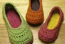 pantoffel en skoen hekel
