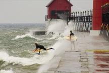 Surfing Michigan