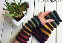 Textilslöjd - stickat och virkat