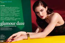 Hilary Rhoda for Vogue Taiwan