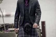 Man's kilt outfit