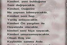 ŞİİR / ŞAİRLERİN DİZELERİ