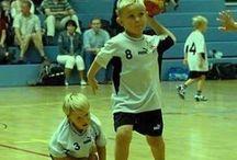 Jongens handballen