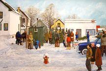 """""""Landscape/Community Paintings"""""""