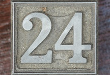 Rock 24th Anniv. Inspiration / The Rock Church turns 24 in June 2012.  Looking for inspiration using he number 24 and the colors black, yellow, and gray...  / by Sue Bryan