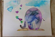watercolors / by Jen Pierce