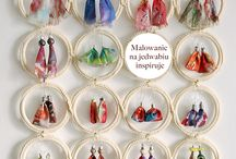 Silk jewellery /  new look at silk painting
