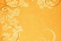 Scrap: Papers yelow-orange