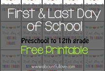 Free Printables for School