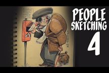 Drawing & Sketching Tutorials and Pencil Art & Pastels Tutorials, Video's and How-To's / I love cartoons, drawing, sketching, pencil art paintings and pastels and I would love to learn how to do this.   If you would, too pictures perhaps these tutorials, video's and how-to's will be helpful.