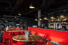 Union Bar & Grill - Branding / Union Bar & Grill, Chiswick, interior design and branding by DesignLSM. Photography (c) James French Photography