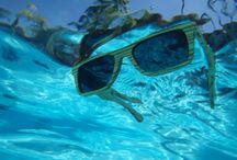 Floating Wood Sunglasses