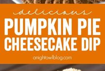 All Things Pumpkin / Pumpkin soup, pumpkin pie, pumpkin oatmeal, pumpkin pasta, pumpkin cake, pumpkin bars, and maybe even a pumpkin spice latte along the way!  If you like pumpkin, this is the place for you! Dessert, dinner, breakfast, brunch