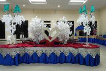 Berkah Catering - Wedding Catering at Aula Lapangan Tennis Sidoarjo