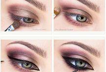 Groene ogen make up