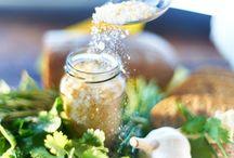Domácí ochucené soli(peeling,koupele apod.)