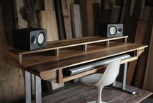 Studio desk ideas