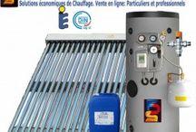 Chauffage Solaire / Produits et équipements de chauffage pour la maison utilisant principalement l'énergie solaire thermique