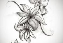 Lilien-tattoo-design