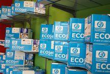 ECojet Shop / Negozio specializzato nella vendita di consumabili di stampa originali, compatibili e rigenerati. Abbiamo disponibilità di ricariche ink-jet, carta fotografica e carta per stampanti. Offriamo il servizio di smaltimento e raccolta rifiuti speciali ad aziende presenti sul territorio di competenza. Da noi hai la possibilità di effettuare spedizioni in tutto il mondo a prezzi concorrenziali e pagamenti on line