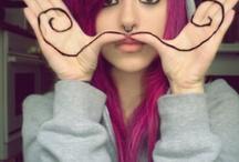 mustache/bigotes/baffi
