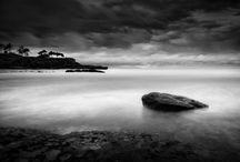 B & W photography - places-