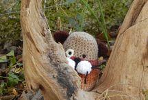 crochet dolls ( my work)
