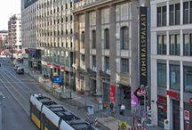 Deutsch lernen in Berlin / Learn German in Berlin / Unsere Sprachschule hat ihren Sitz im großen Veranstaltungshaus 'Admiralspalast' direkt auf der Berliner Einkaufsmeile, der Friedrichsstraße.