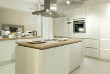 German Handleless kitchens / German handleless Kitchens in different shapes styles and designs