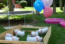 Maia's 2nd Birthday Party / Pig Party / by Tiffany Ailshire Betts