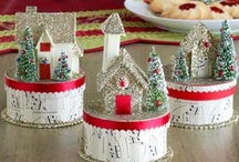 Vintage Christmas / by Petals & Plumes- Angie Etheridge(owner/designer)