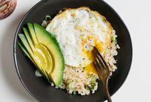 Lite Protein Meals / Rice Avocado Egg