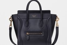Black Luxury Bags / Oh so lovely luxury bags. A sweet collection of black beauties.