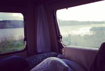 CampingVognsLiv / ... ture ud i det blå i svampevognen!