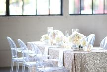 Sparkly Events / Who doesn't love a little sparkle? Check out some glittery options to create the perfect party.