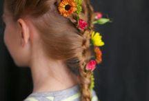 UP - braided hairs