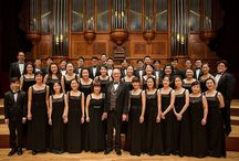 Singing: Abroad / Jo-Michael Scheibe travels abroad to work with groups in Taiwan, Germany, and Austria.