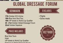Global Dressage Forum 2014 / Equestrian travel