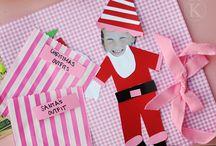 Christmas crafts w/ kids