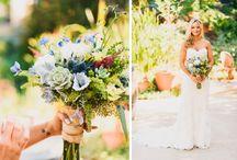 Mountain Mermaid Rustic Wedding Decor and Photos