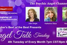 Angel Talk Tuesday / Join the Psychic Angel Channelers, Psychic Medium Julie Geigle, Spiritual Healer Katherine Glass and Spiritual Counselor Maggie Chula as they channel Angel Wisdom to help you live more soulfully.