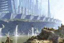 Future cityscapes