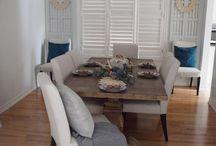 Farmhouse Dining Rooms